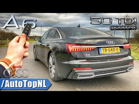 2019 Audi A6 50 TDI REVIEW on AUTOBAHN & ROAD by AutoTopNL
