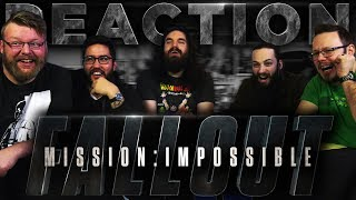 Mission: Impossible - Fallout - Official Trailer REACTION!!