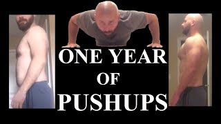 Pushups Everyday For A Year