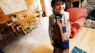 MiniMe's Ruggedly Handsome Apron Saves Gobs of Clothes