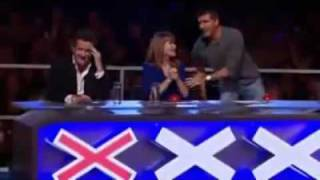 Simon Cowell Does Have a HEART!
