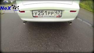 NeX® - _Mitsubishi Lancer X с 2011 г. ЭКСКЛЮЗИВ! Глушитель -Форсаж- с нерж.насадками 76 мм.