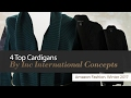 4 Top Cardigans By Inc International Concepts Amazon Fashion, Winter 2017