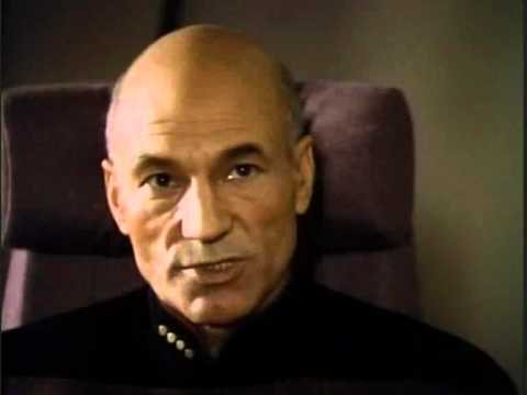 Picard warns Dukat....he'll be watching