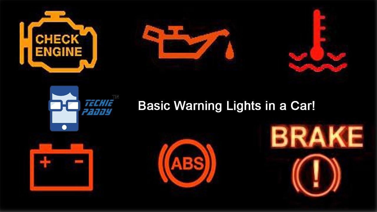 Basic warning lights in a car youtube basic warning lights in a car biocorpaavc