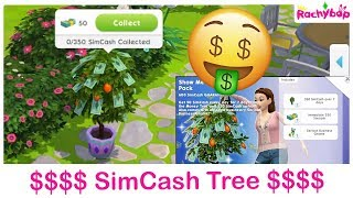 The Sims Mobile MONEY TREE [Show me the money tree pack]
