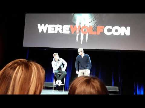 WereWolfCon 3  Max and Charlie Carver  First kiss and who they would date from the Teen Wolf cast