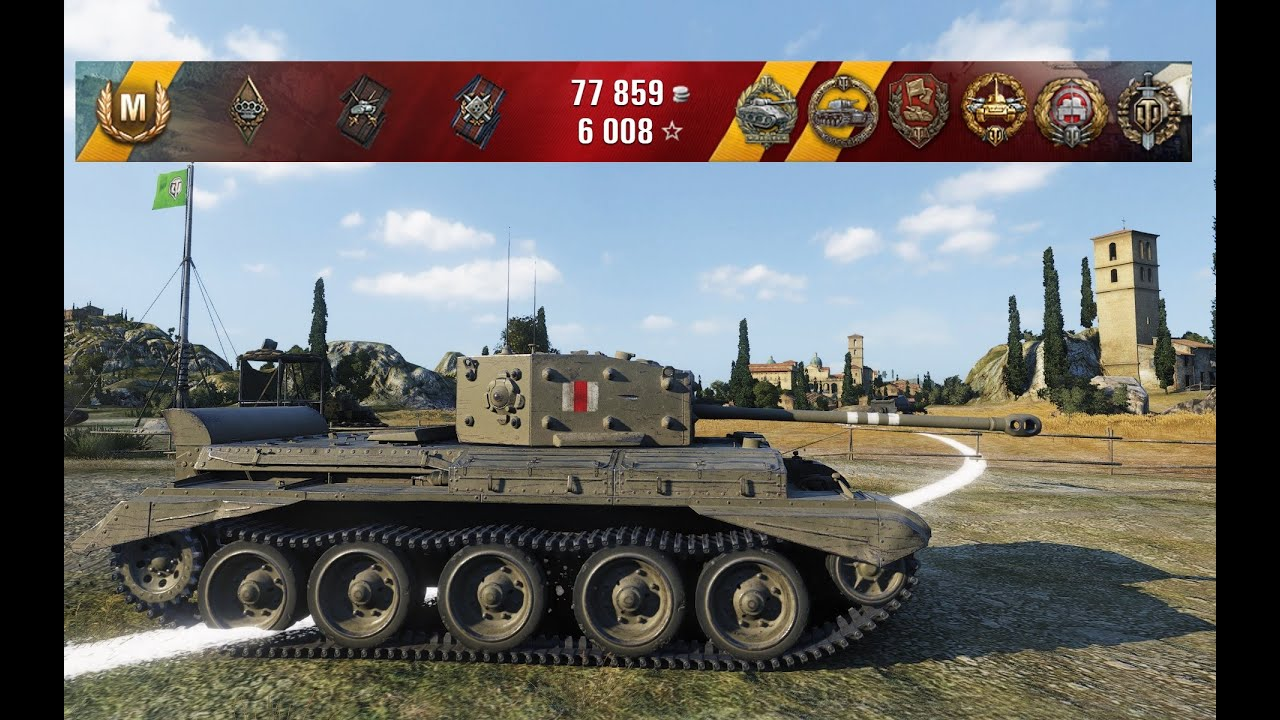 WoT Cromwell Best Game in 0.9.10 | 8 kills - Abbey - YouTube