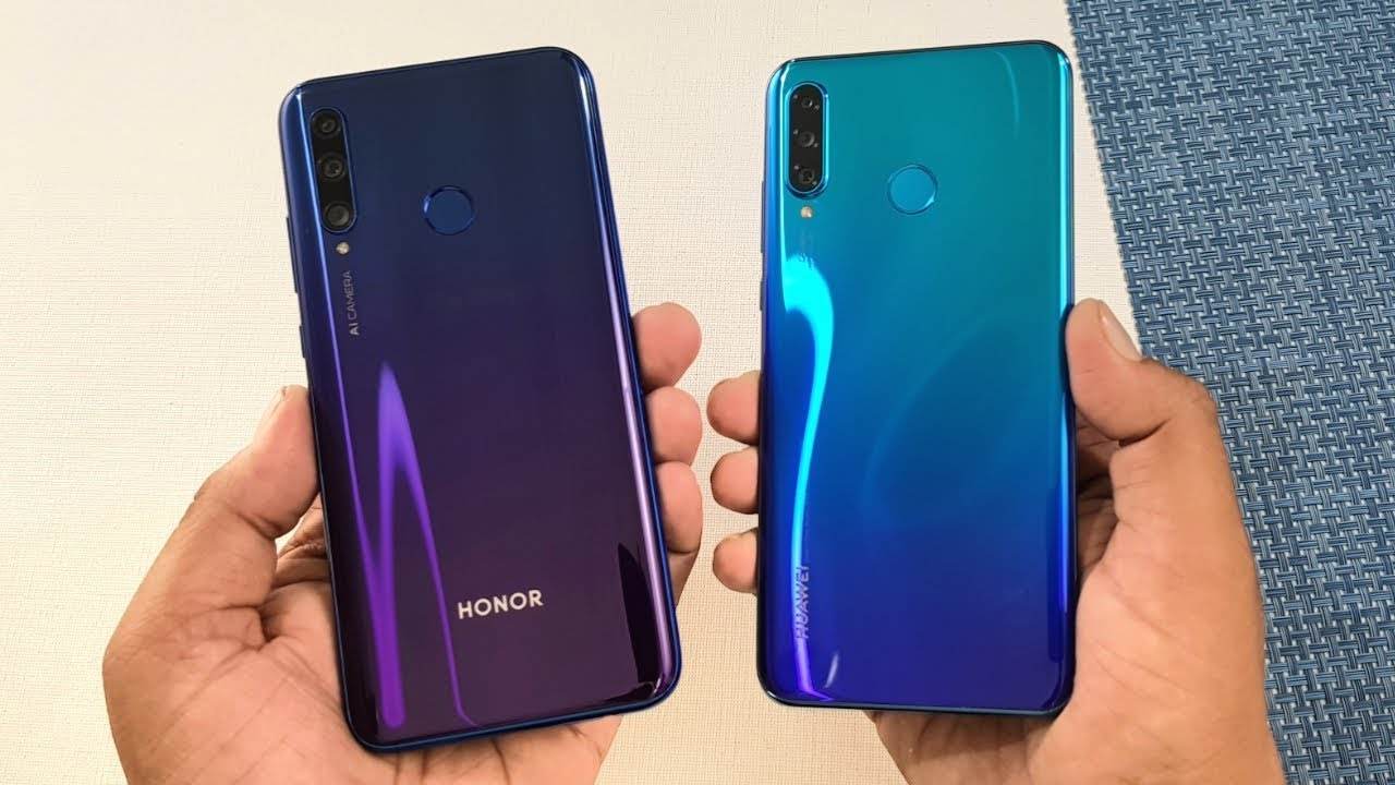 Honor 20i vs Huawei P30 Lite SpeedTest & Camera Comparison