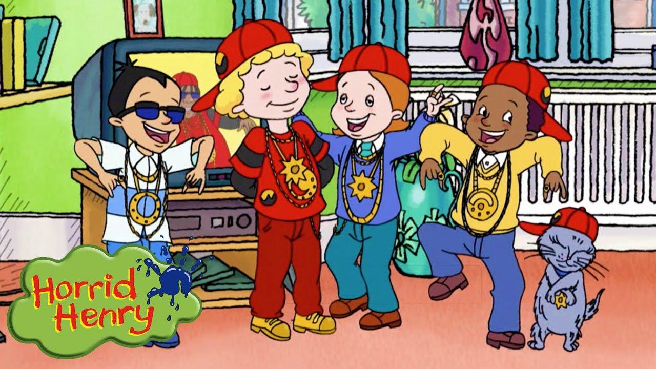 Peter's Hip Hop Band | Horrid Henry | Cartoons for Children