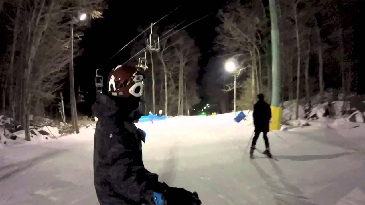 spring mountain - pa snowboarding (gopro) - youtube