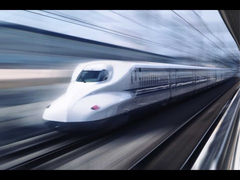 AMAZING: THE FASTEST TRAIN IN THE WORLD - The Bullet Train ...