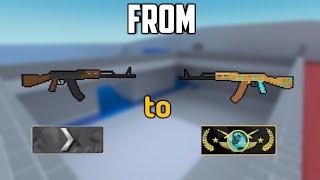 Block Strike - Silver 1 to Global •AK47 Shooting•