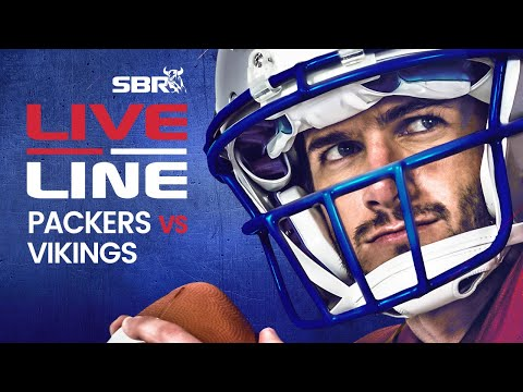 Packers Vs. Vikings Monday Night Football In-Game Betting & Odds Analysis | Live Line