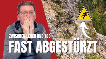 Ausgerutscht - Beinahe-Absturz // Wandern im Tannheimer Tal