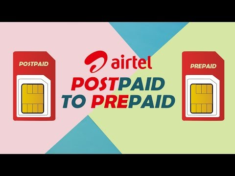 How to know your airtel sim is prepaid or postpaid