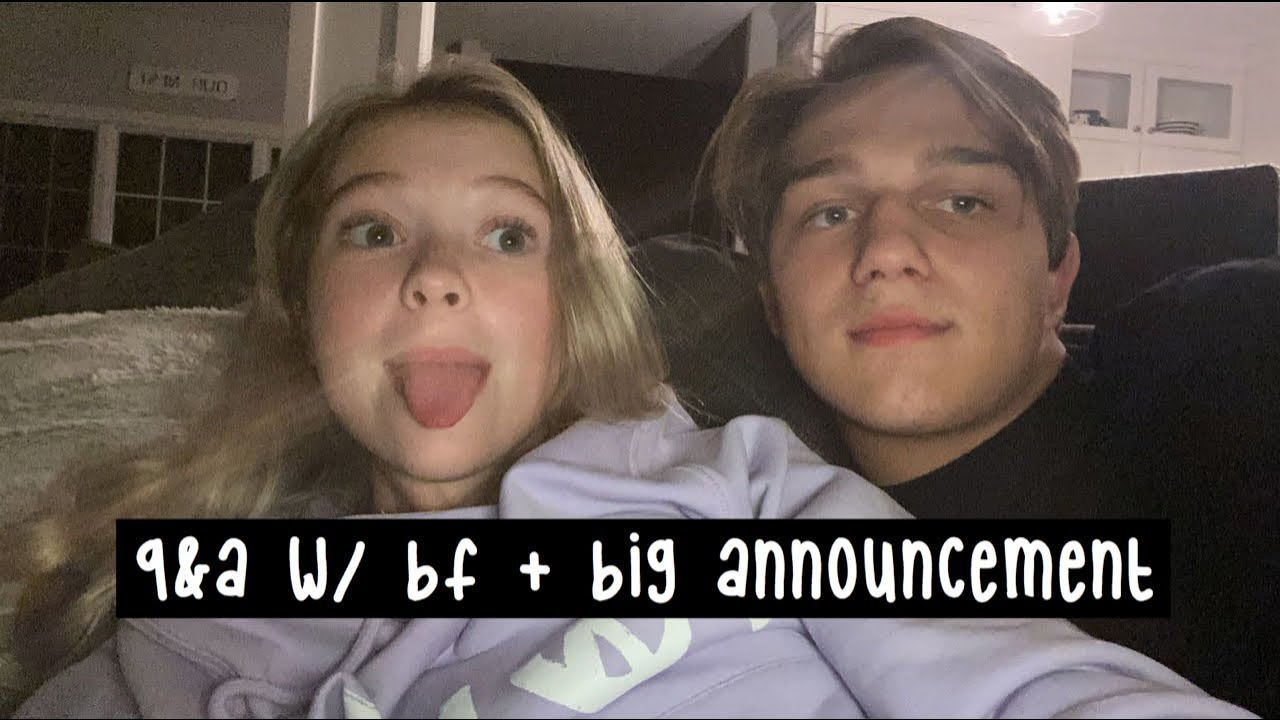 Live Q&A w/ My BF + Big Announcement