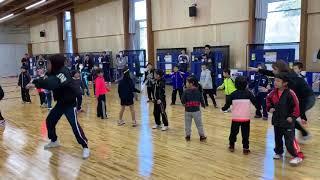 日本卓球界初!未来のメダリスト・卓球U-7 選手強化合宿 ダンス講習①