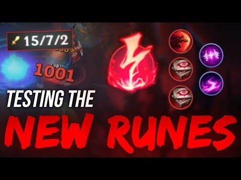 LL Stylish - TESTING THE NEW RUNES