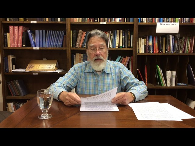 Bible Study with Bill Stahl - Week 27