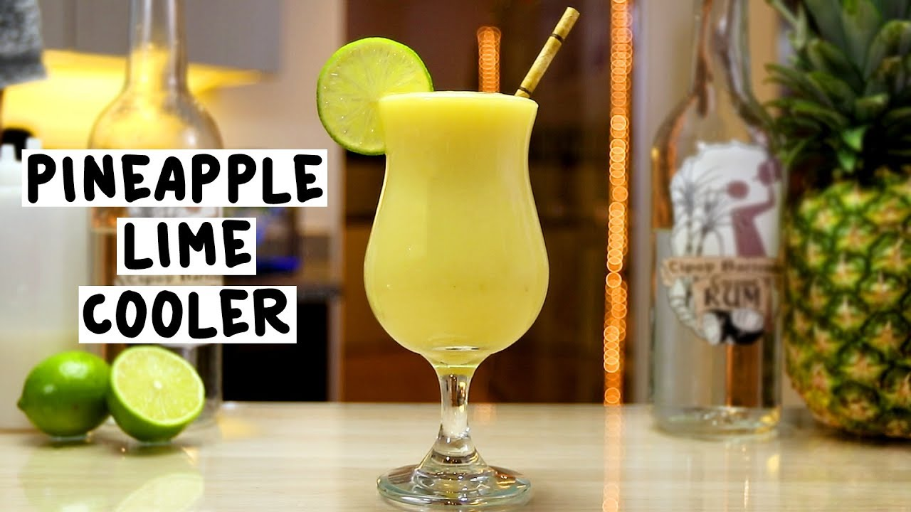 Pineapple Lime Cooler - YouTube