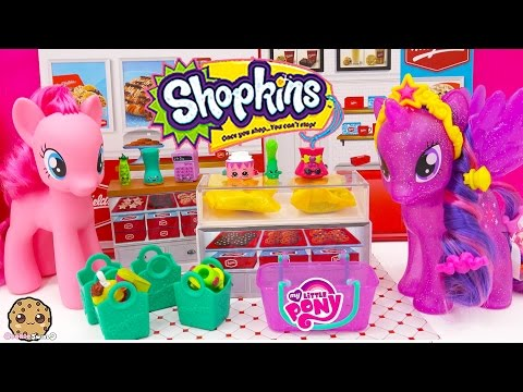 MLP Princess Twilight Sparkle And Pinkie Unbox 12 Pack Shopkins Season 3 With 2 Blind Bags