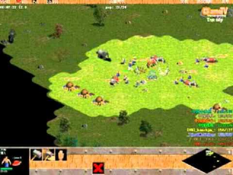 03/10/2011 4vs4 random VN vs Tứ đại cao thủ TQ trận 1