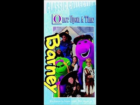 Barney's Once Upon A Time (1999 Lyrick Studios VHS Rip) (First Video Of 2018)