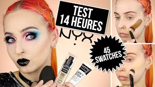 NYX Can't Stop Won't Stop Fond de teint | CRASH TEST + SWATCHES