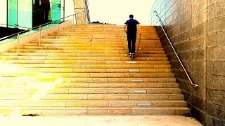 HOW TO OLLIE STAIRS THE EASIEST WAY TUTORIAL!