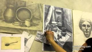 Обучение рисунку. Введение. 15 серия: немного о программе