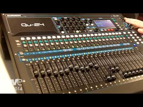 ISE 2014: Allen & Heath Adds Qu-24 Compact Digital Mixer Range, Shows for First Time in Europe