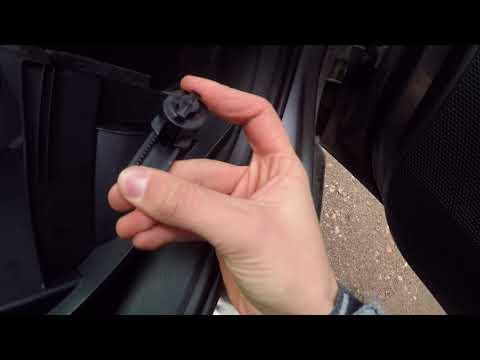 Как снять салонный фильтр на шкода октавия а7
