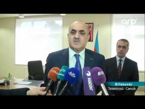 Səlim Müslümov DSMF-nin Biləsuvar rayon şöbəsinin yeni binasını istifadəyə verdi