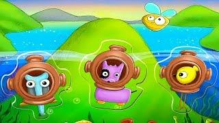 Забавные ПАЗЛЫ для детей - Обзор развивающей игры для ребёнка - Puzzles for children