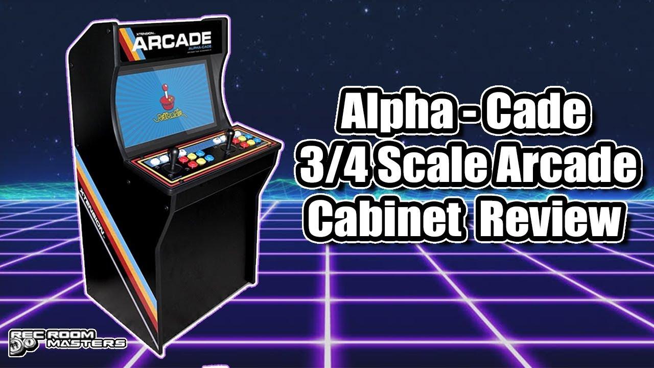Alpha - Cade 3/4 Scale Arcade Cabinet Review PC-Jamma-Raspberry Pi