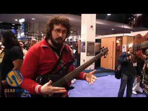 ibanez sr7viisc bass guitar shakes the anaheim namm convention center youtube. Black Bedroom Furniture Sets. Home Design Ideas