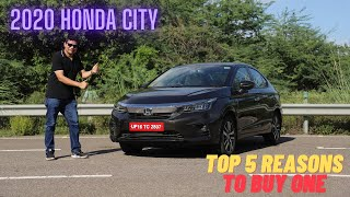 2020 Honda City - Top 5 Reasons to buy one