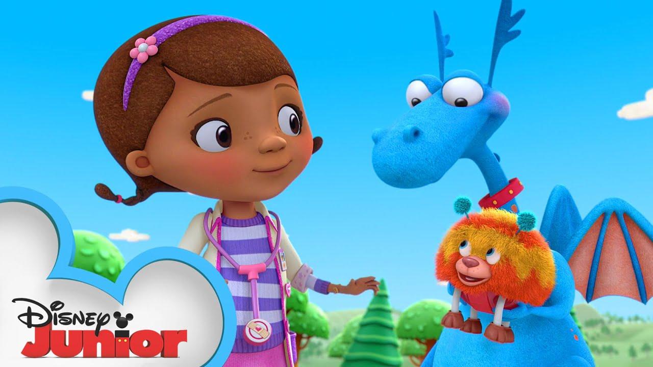 Go Pet Rescue Team! | Doc McStuffins | Disney Junior