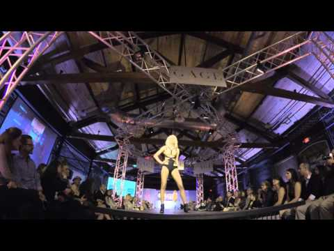 XEN by Rachele kicking off the finale of Knoxville Fashion Week.