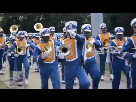 Selma High School Marching Band - Entrance @ 2015 Keith High Game