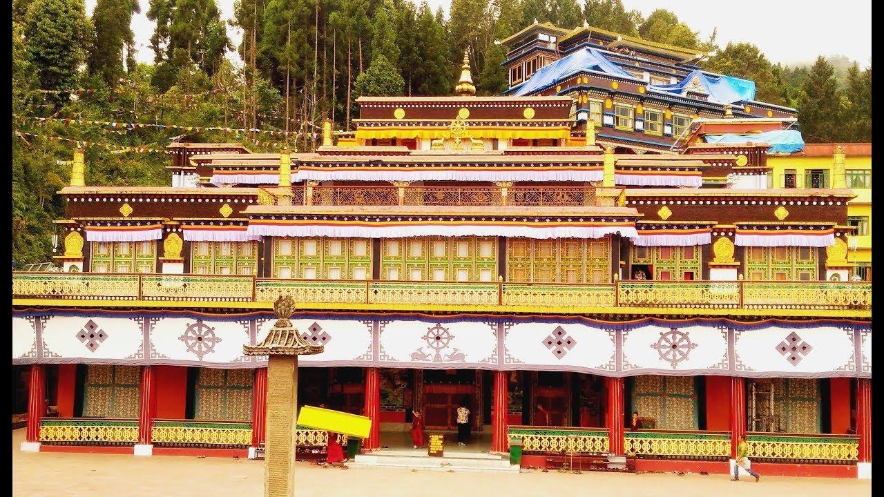 Rumtek Monastery at Gangtok | Gangtok Tourist Attraction - YouTube