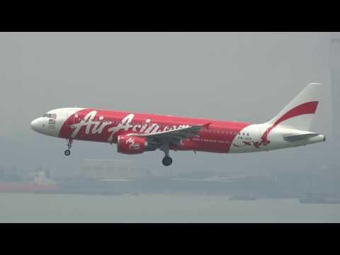 Hong Kong Chep Lap Kok Airport HKG / VHHH plane spotting #2 HD