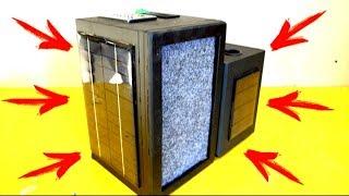 Самодельная магнитола на солнечной батарее