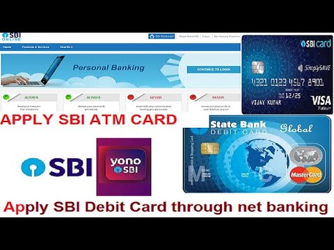 Apply Sbi Debit Card Or Atm Card Through Internet Banking Online State Bank Of India Youtube
