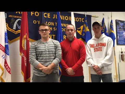 O'Fallon High military group students aren't just talking turkey this holiday season