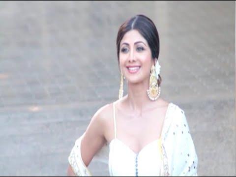 Mehndi Ceremony Of Shilpa Shetty : Sonam kapoor's wedding: shilpa shetty attends mehendi & sangeet