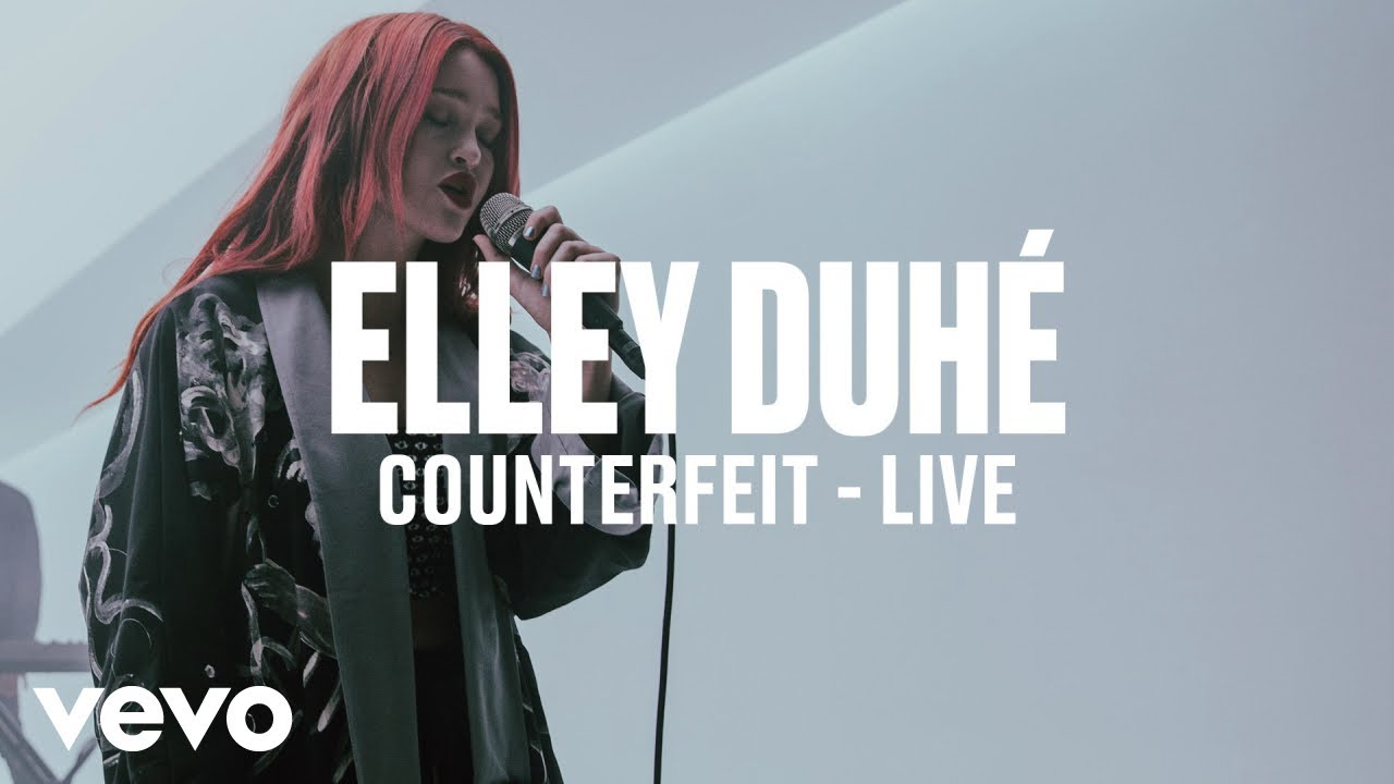Elley Duhé — COUNTERFEIT (Live) | Vevo DSCVR ARTISTS TO WATCH 2019