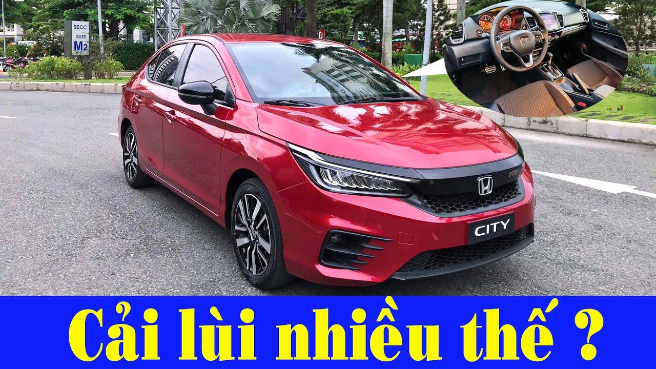 Khám phá chi tiết 3 bản Honda City 2021 tại Việt Nam: Cải lùi và giảm giá ?