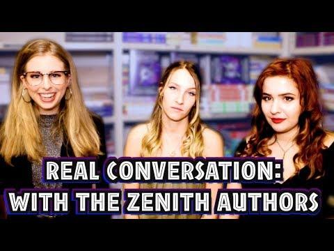 REAL CONVERSATIONS: ZENITH AUTHORS SASHA ALSBERG & LINDSAY CUMMINGS
